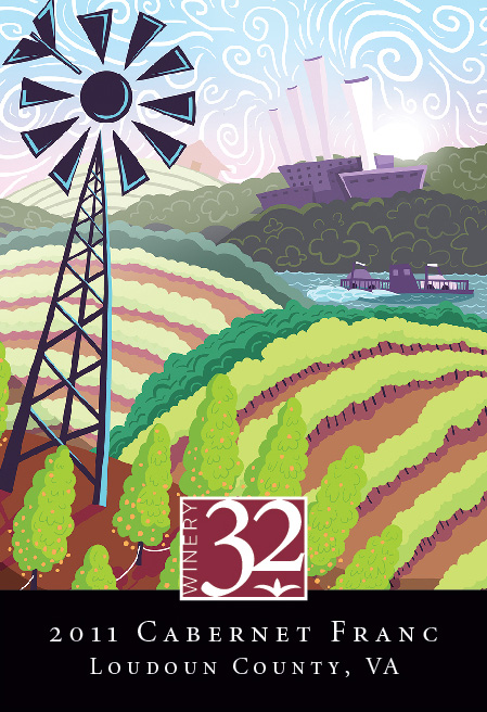 Winery32_2012CabFranc_label