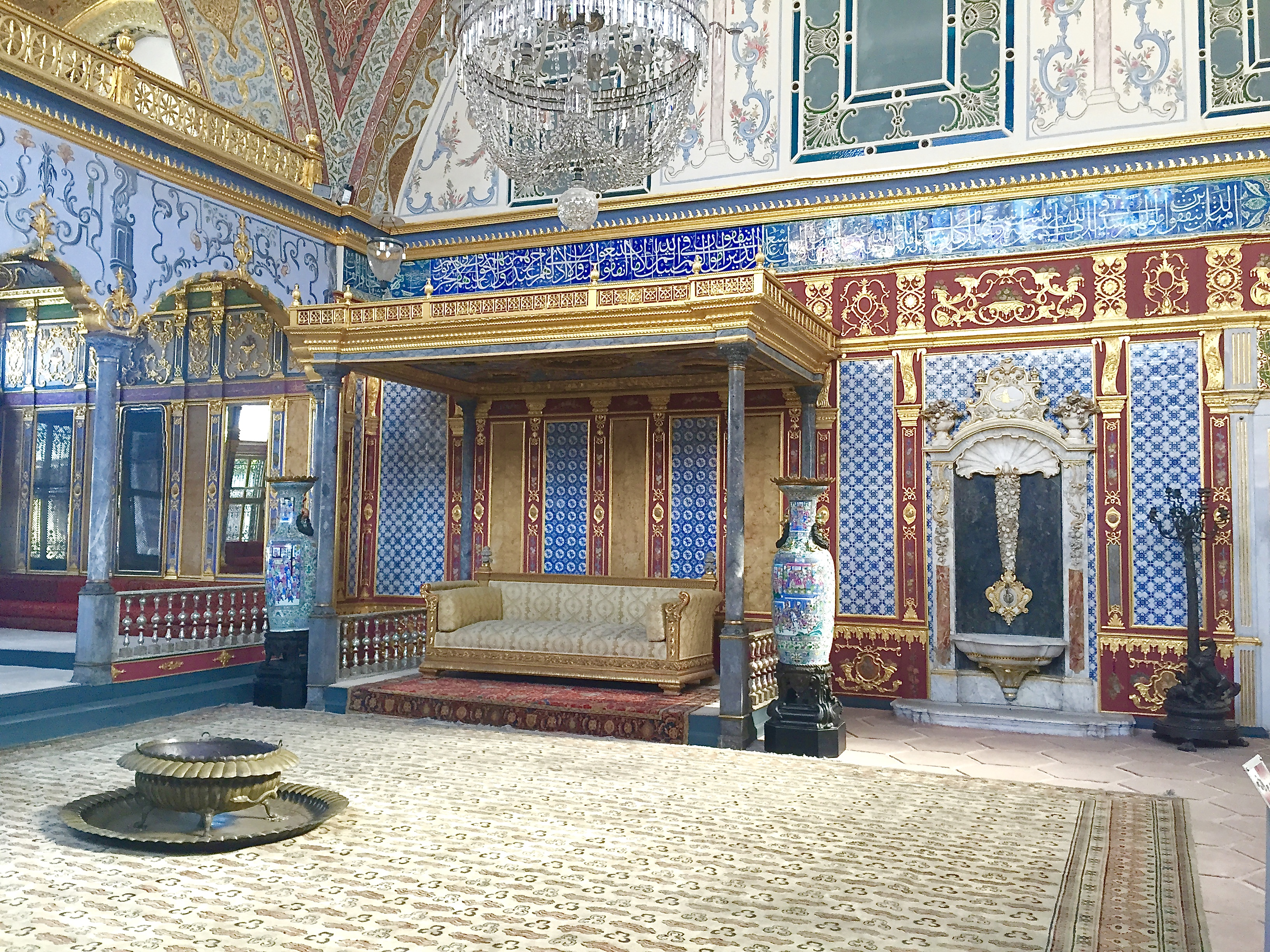 Image of Topkapi Palace, Stop 1 on our Istanbul itinerary