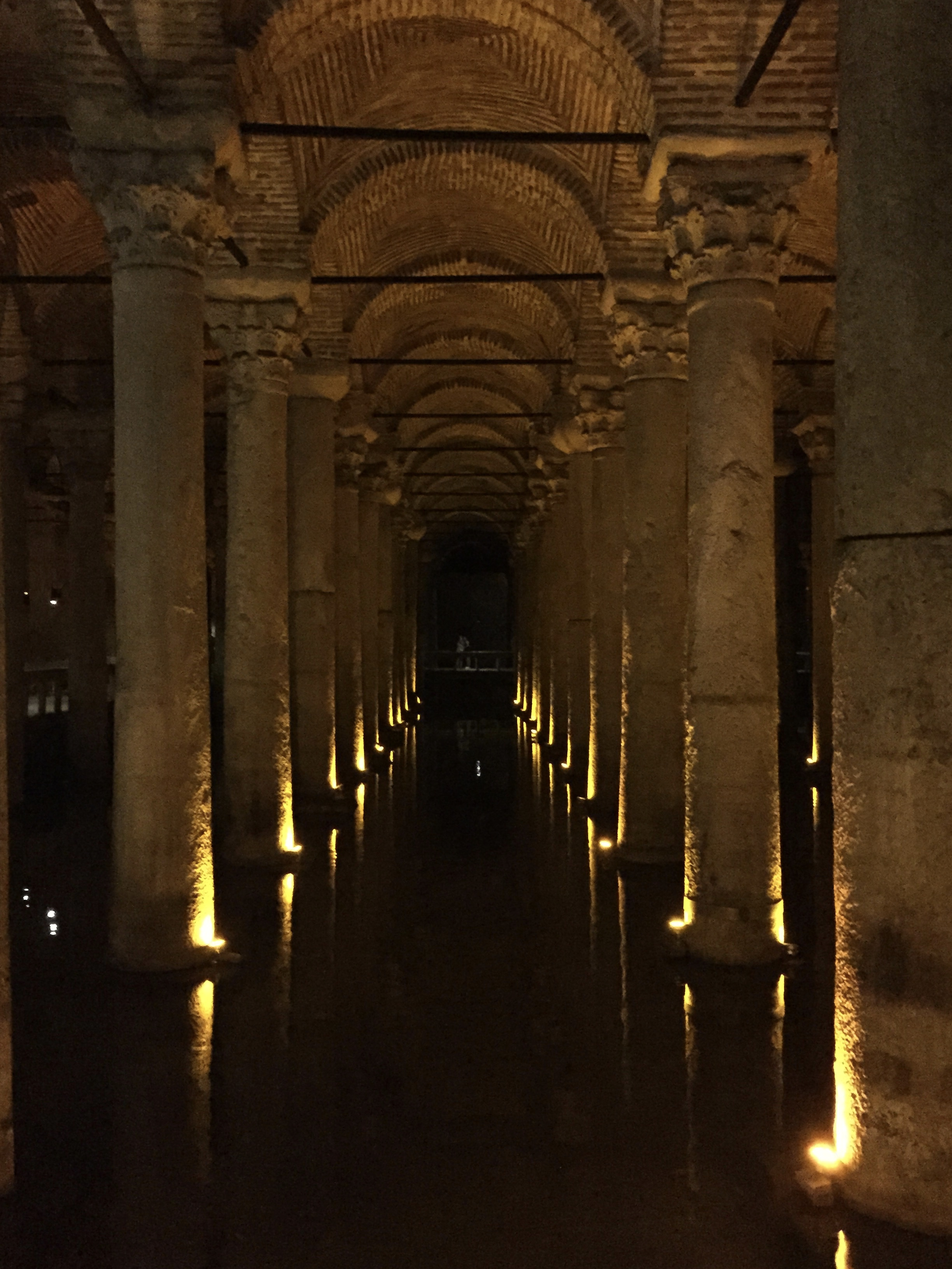 Image of Basilica Cistern, Stop 3 on our Istanbul itinerary