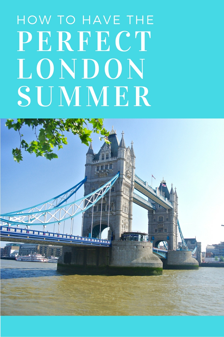 A mini bucket list to help you make the most of London summers!
