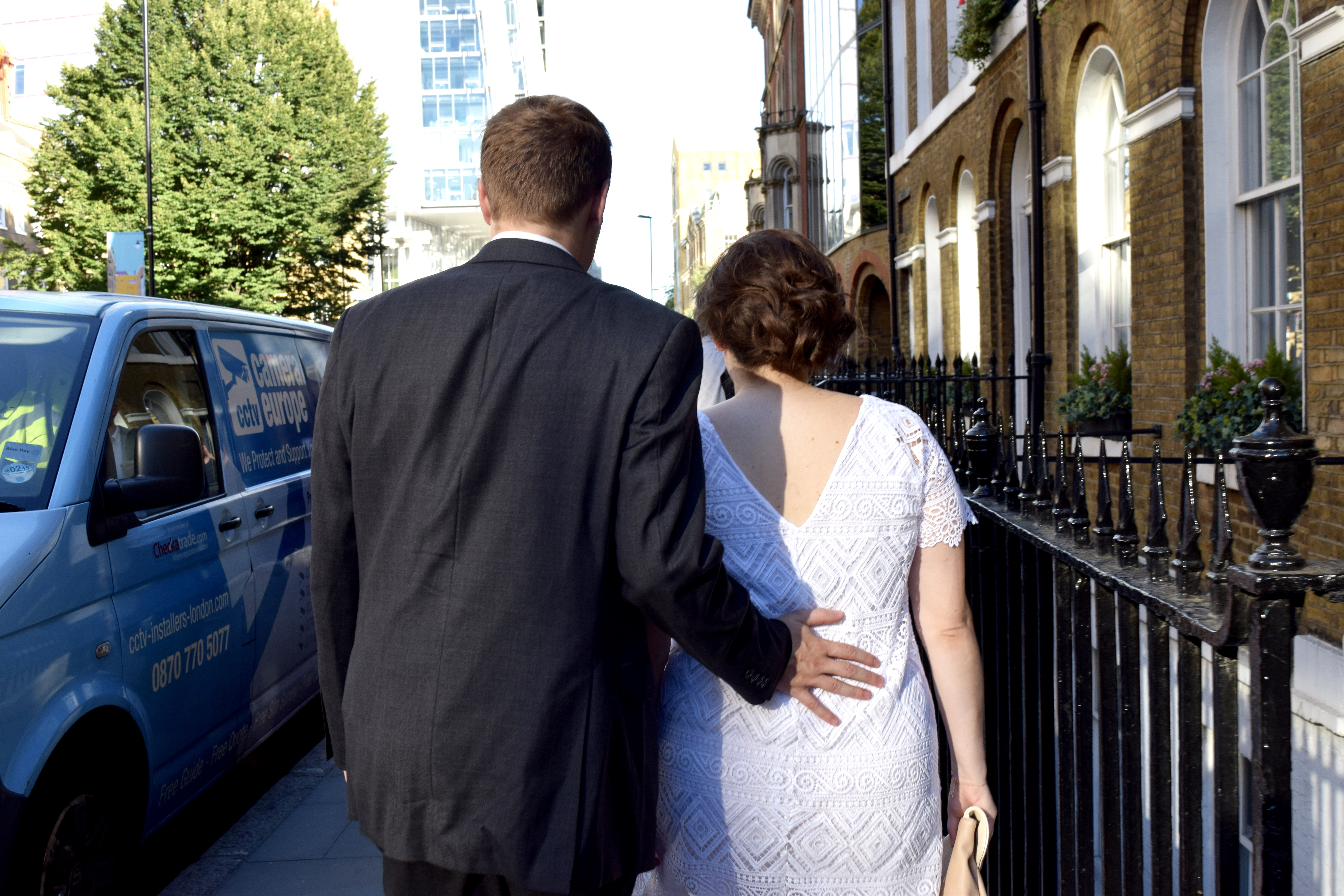 Our Intimate London Wedding
