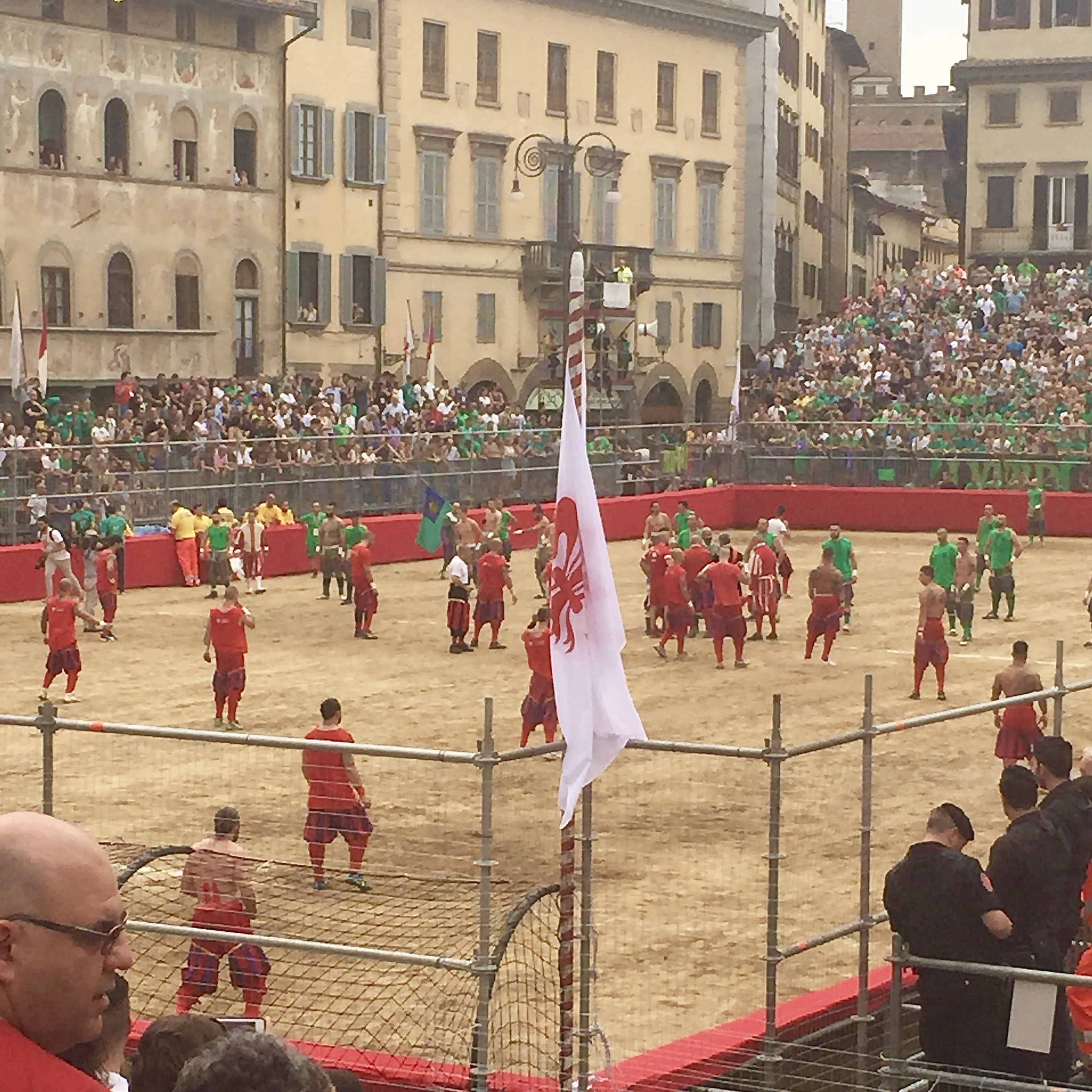 Image from Calcio Storico in Florence, Italy June, 2015