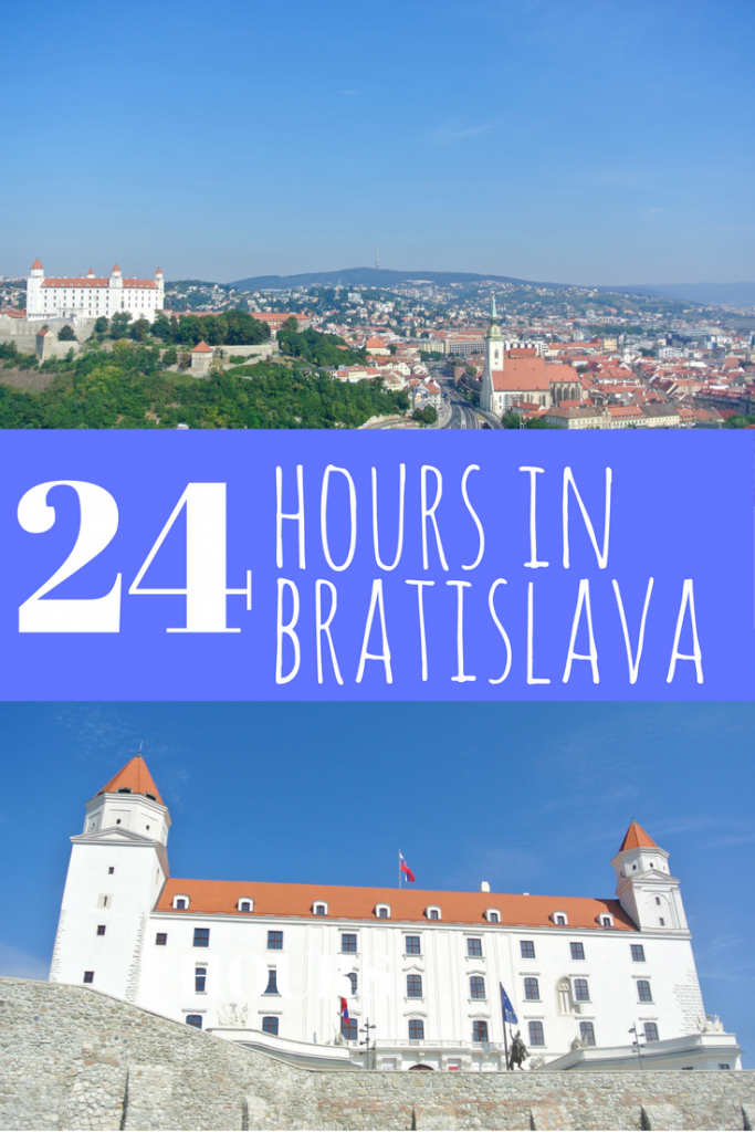 Itinerary for 24 perfect hours in Bratislava, Slovakia. Bratislava is the perfect destination for a quick day trip or weekend getaway. Check out our itinerary. By A Pair of Passports