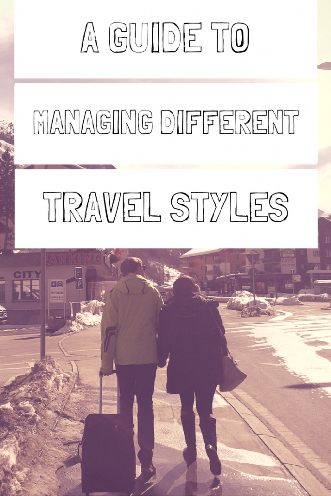 Traveling with another person isn't always easy. Learn to manage different travel styles to have a better experience next time you aren't seeing eye to eye with your travel partner. Guide by A Pair of Passports