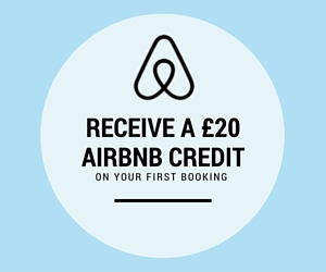 Try out AirBnb with our referral code and receive a discount on your first stay - we'll get a little something too to help us continue our travels!
