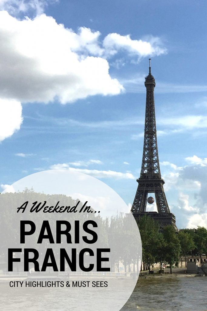Highlights from a weekend in the City of Lights. Explore Paris in a short timeframe and see it all!