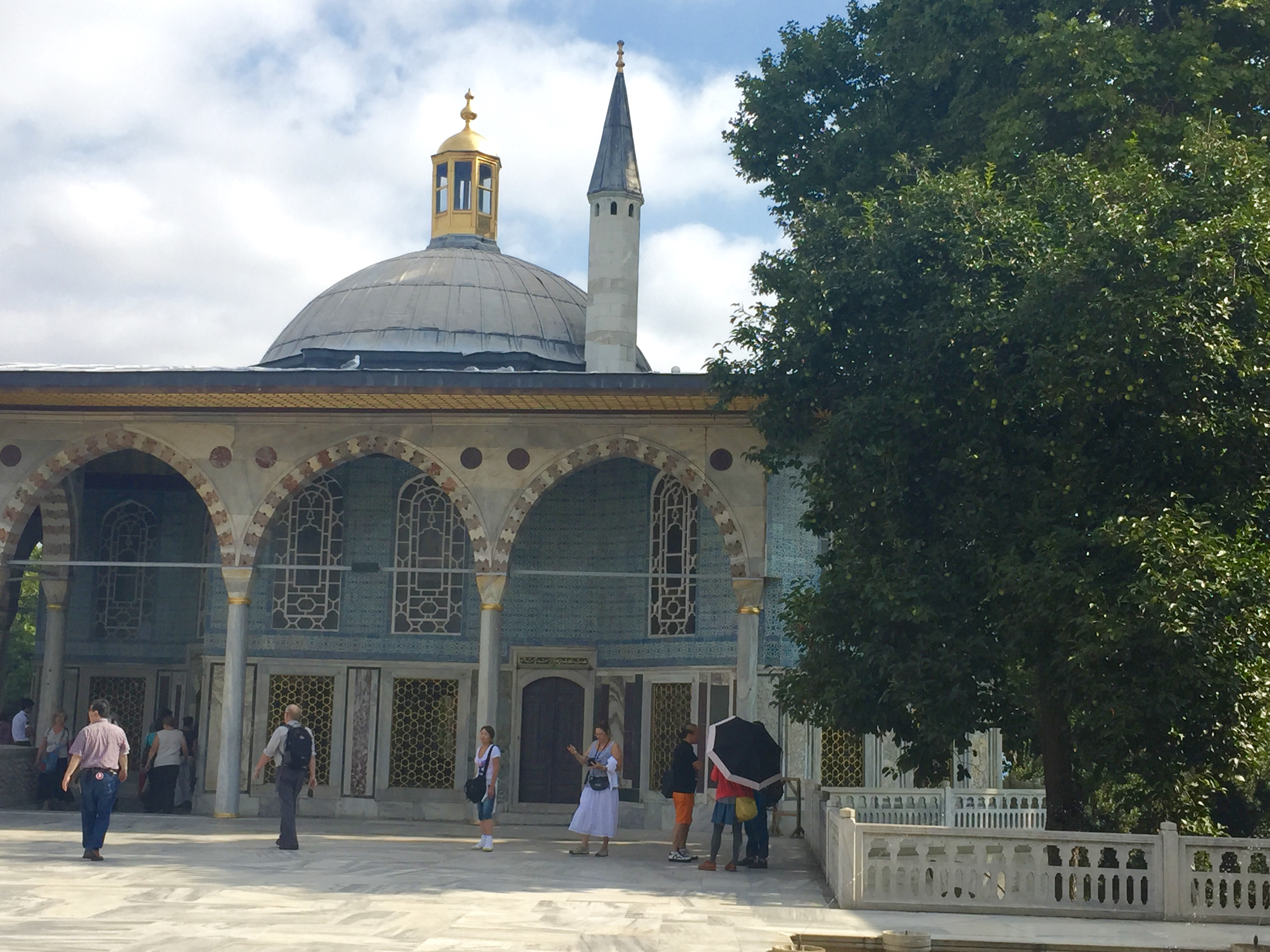 Image of Topkapi Palace, Stop 1 on Istanbul itinerary