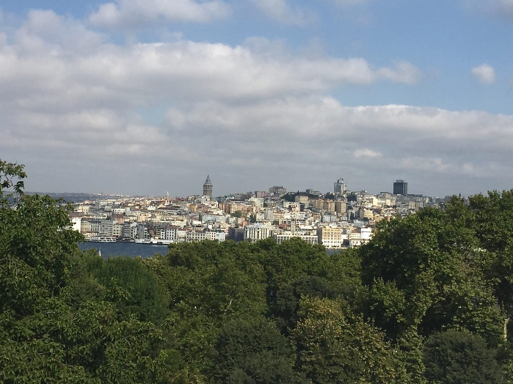 View from Topkapi Palace in Istanbul