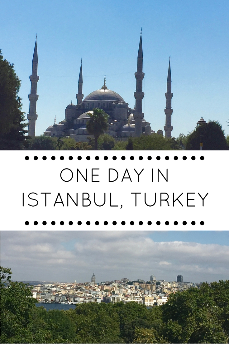 A guide to seeing Istanbul's major sights in only one day - Blue Mosque, Hagia Sophia, Topkapi Palace and more! By A Pair of Passports