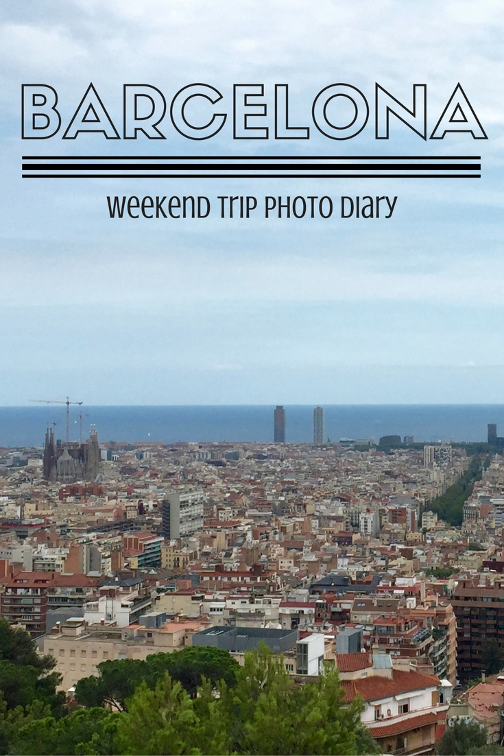 Barcelona is a great city to visit for a weekend getaway. View photos from our trip and read about the things you simply cannot miss!
