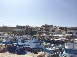 Image of Bozcaada, Turkey's Harbor