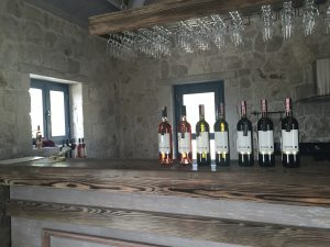Image of the bar at Urla Winery