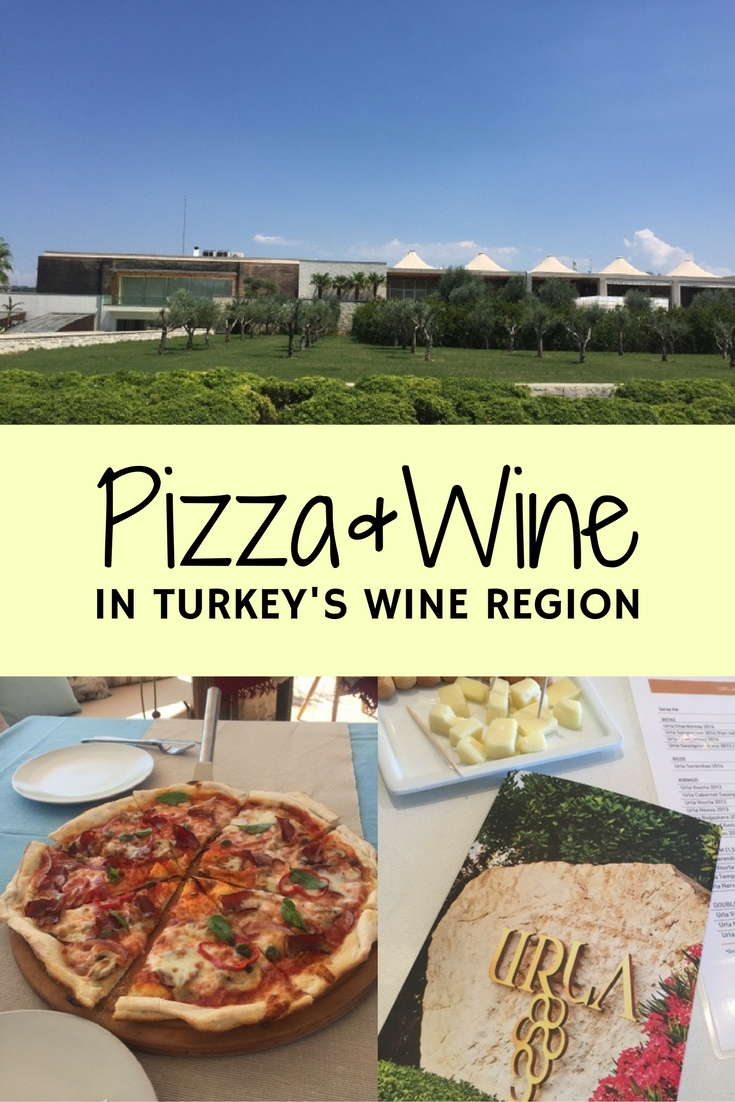 Experience Turkey's wine region, Urla, with a visit to two wineries, one of which makes incredible pizza as well!