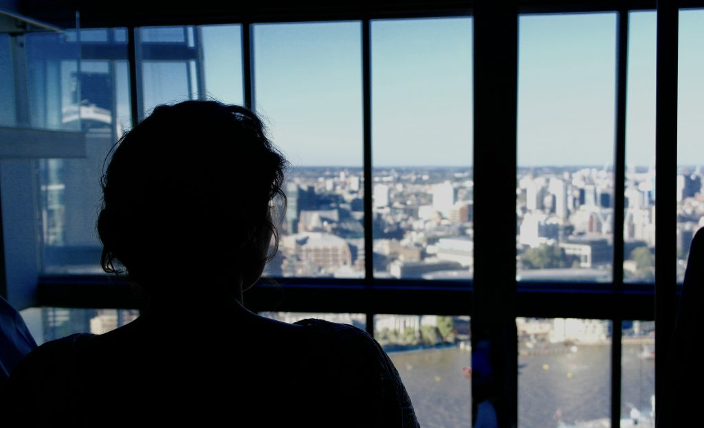 An Intimate London Wedding - view from celebratory dinner at Hutong at the Shard