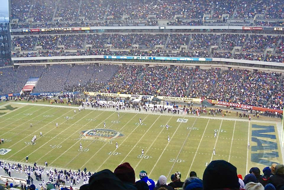 Image from Army Navy football game