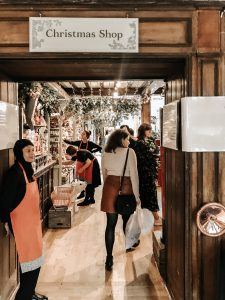 Christmas in London - Shopping at Liberty London's Christmas Store