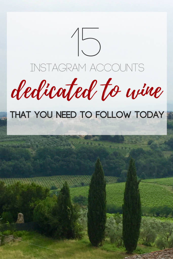 Grab your passport and get your wine on! These 15 Instagram accounts will lead you to book your next vineyard adventure ASAP.