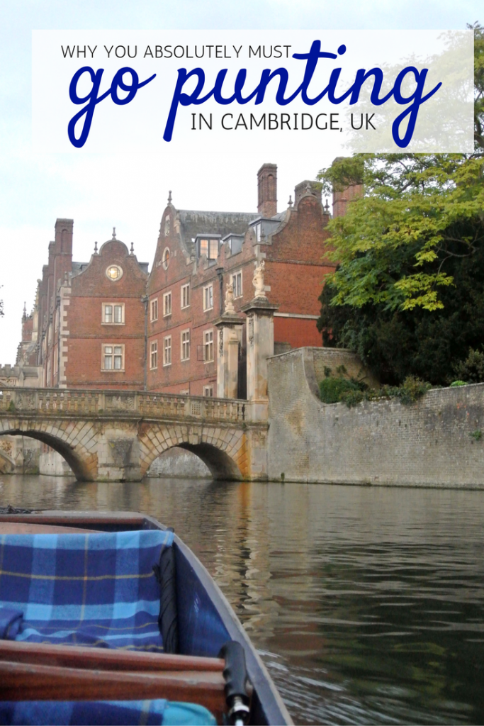 Cambridge, UK is a great day trip from London and punting is a can't miss activity. See Cambridge's most beautiful sites by water, stunning autumn foliage. By A Pair of Passports