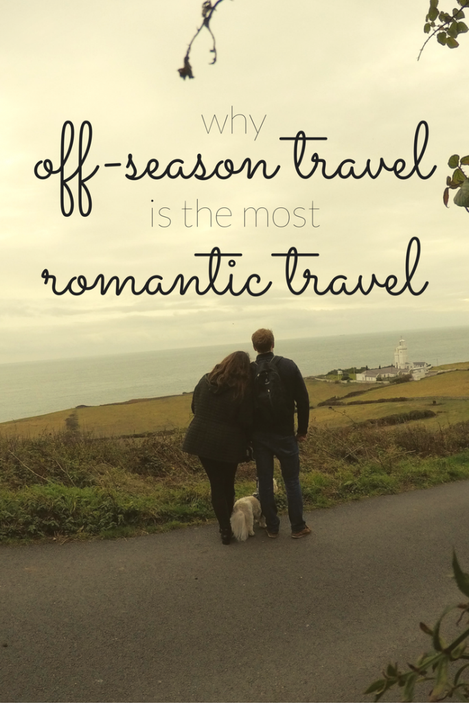 Find the ultimate romance in off-season travel. Travel with your significant other in the off-season and learn how to find the romance.