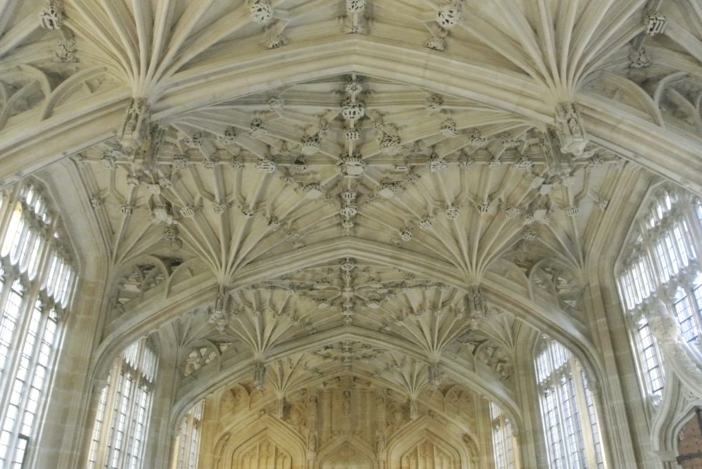 Divinity School, Oxford - Finding the Romance in Oxford & Cambridge, England Romantic Destinations