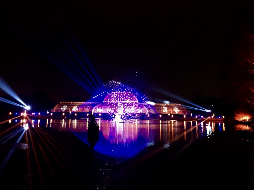 Enjoy Christmas at Kew on your winter trip to London - Christmas lights, mulled wine, and tons of fun!