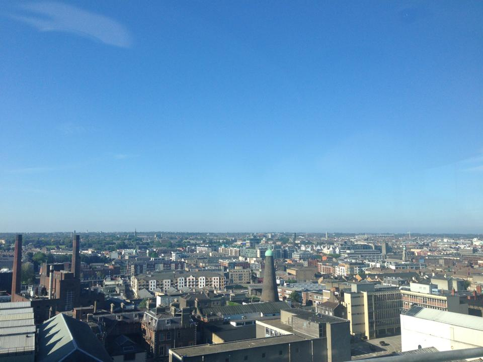 Guinness Storehouse Gravity Bar - Where to drink Guinness in Dublin