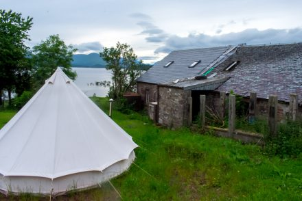 Glamping on Loch Lomond - Portnellan Farm, Loch Lomond, Scotland
