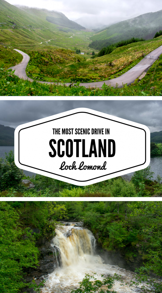 Scotland Driving Itinerary - Driving around Loch Lomond, Scotland - Scenic drive in Scotland - Loch Lomond Itinerary