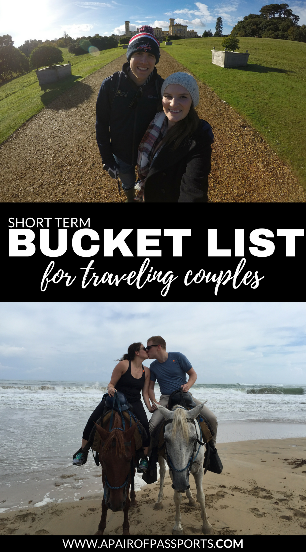 Create your own bucket list for traveling couples. Enjoy travel memories of a lifetime on these awesome trips for couples!