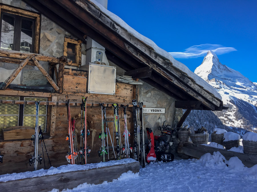 Chez Vrony - Zermatt, Switzerland - Photos of the Matterhorn