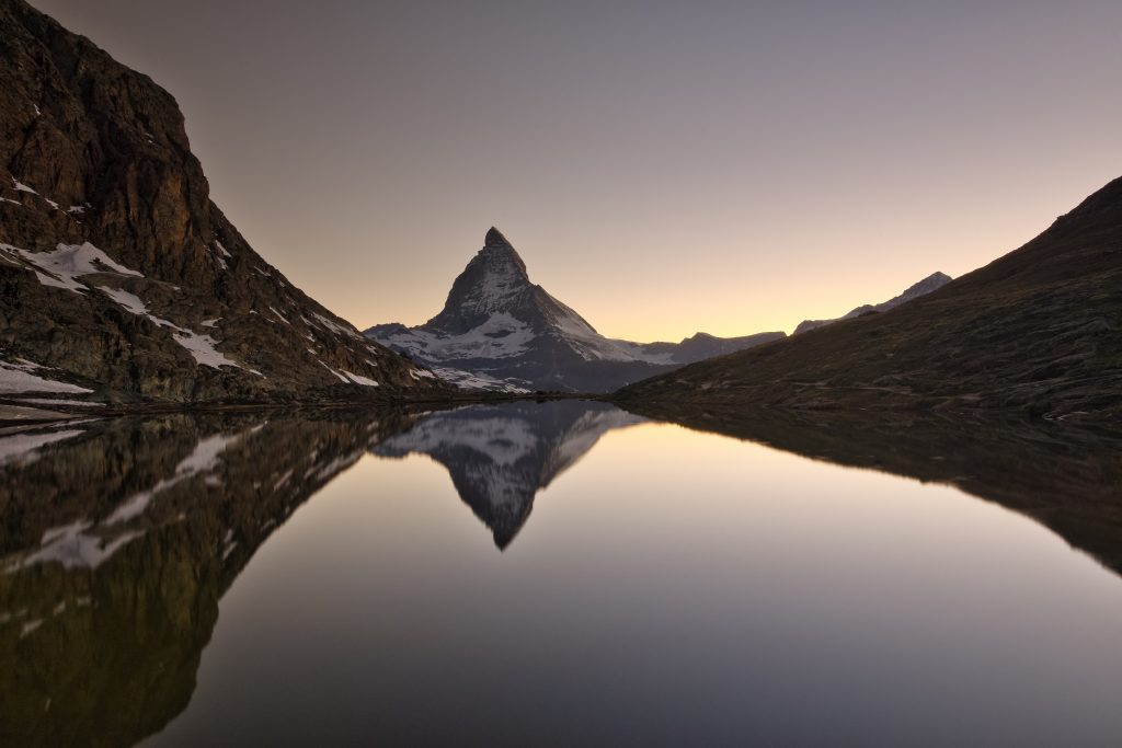 Riffelsee - Zermatt, Switzerland - Photos of the Matterhorn