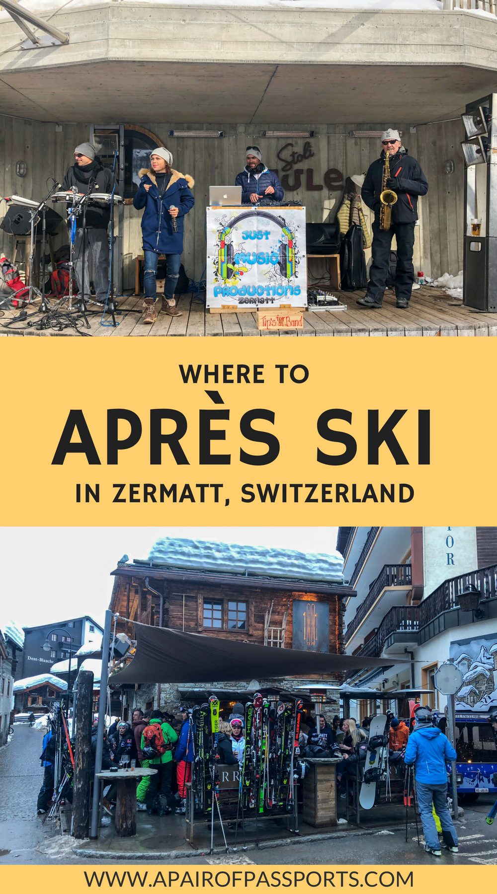 The Best Spots for Après Ski in Zermatt, Switzerland | Where to Après Ski in the Swiss Alps