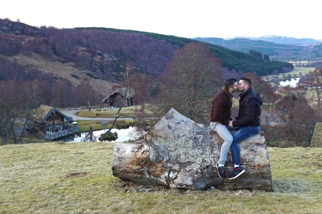 Romantic Hotels in Scotland - Eagle Brae Scotland - Most Romantic Hotels in the UK - Where to Stay in Scotland - Scotland Cabin Hotel