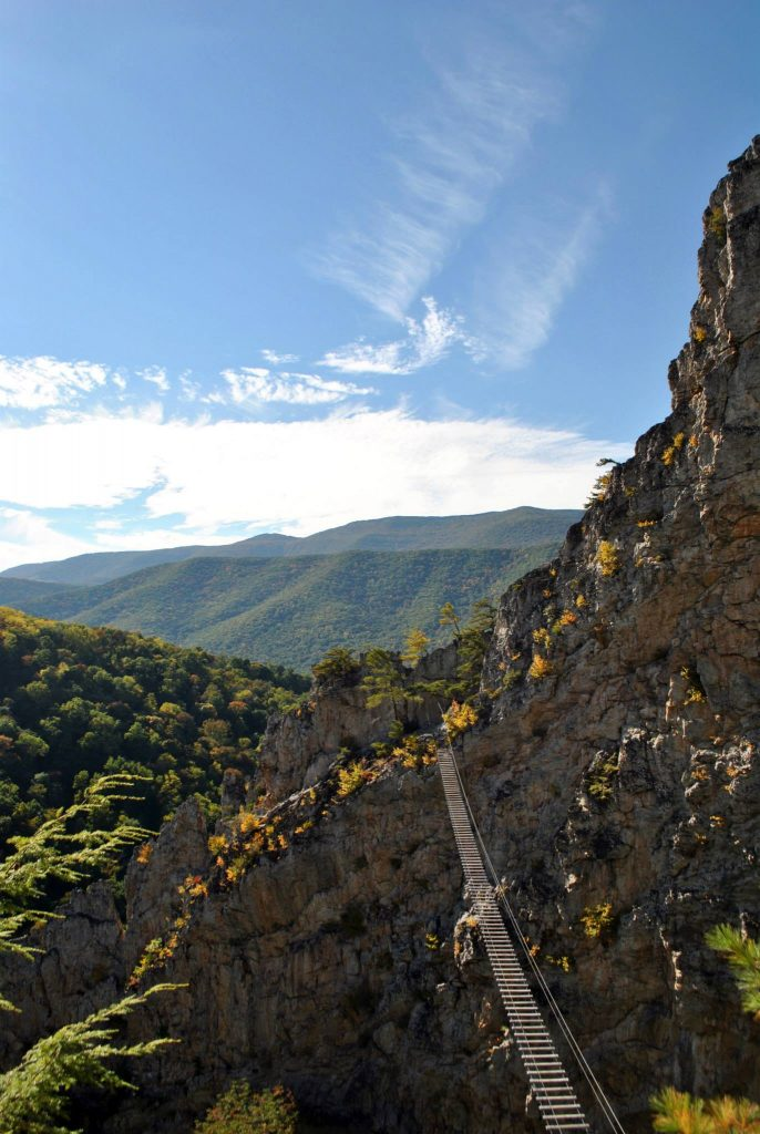 Most Romantic Experiences in the US - Via Ferrata West Virginia