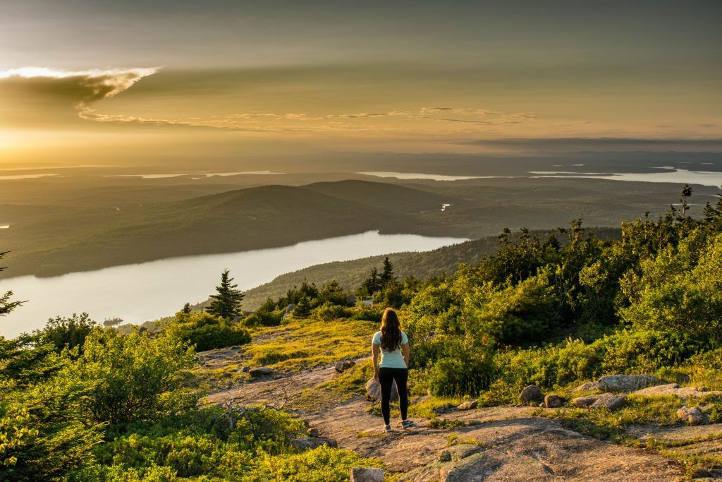Most Romantic Experiences in the US - Cadillac Mountain Sunset Maine