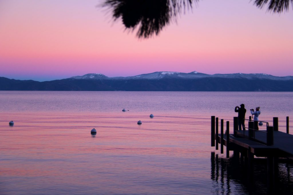 Most Romantic Experiences in the US - Lake Tahoe, California