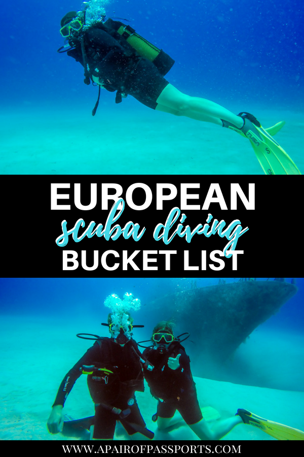 Did you know that there is great #diving in #Europe? Check out our bucket list of the best scuba diving destinations in Europe!