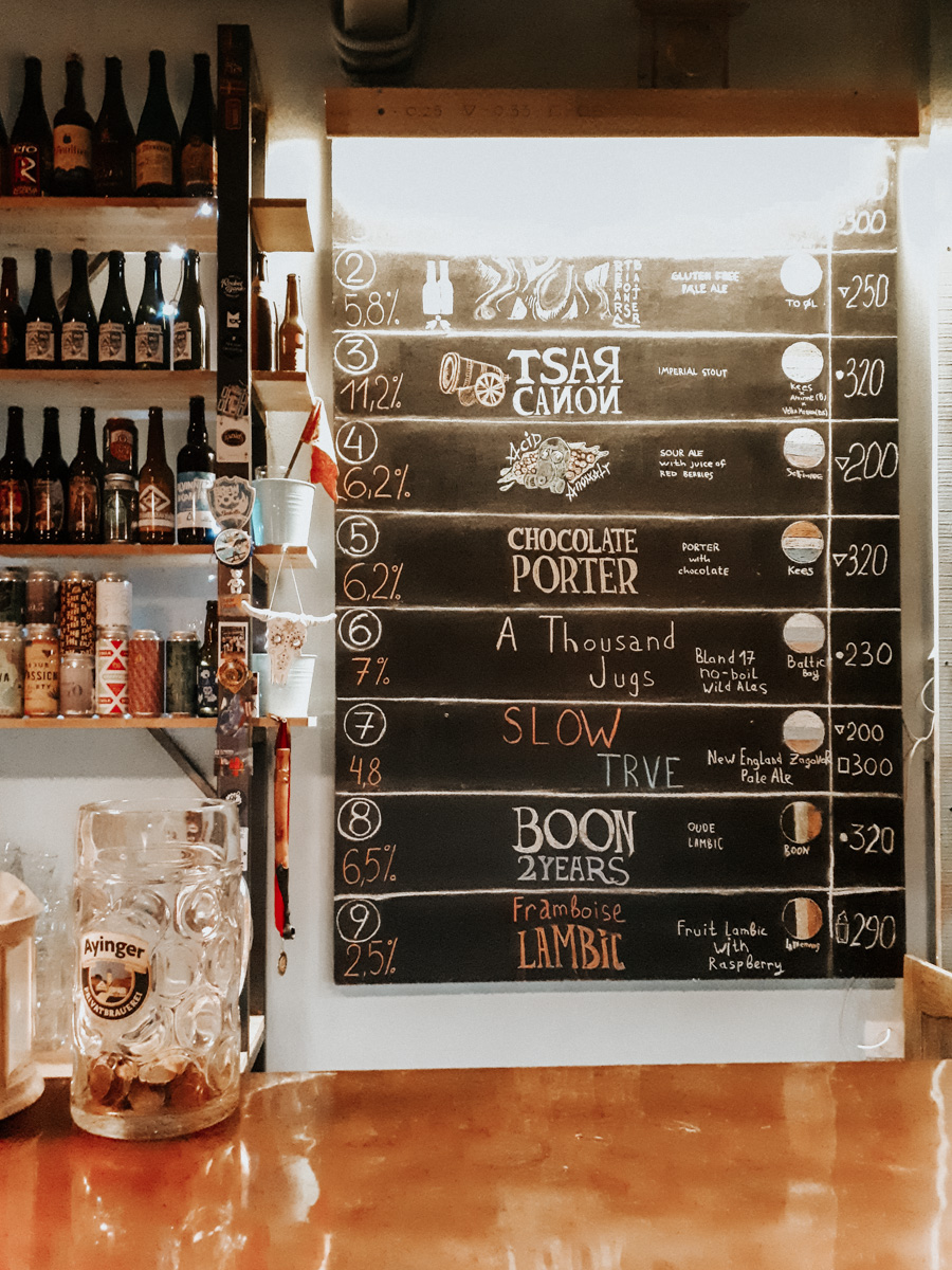 Alyaska, Craft Beer bar in Volgograd, Russia - Best Russian Craft Beer Bars
