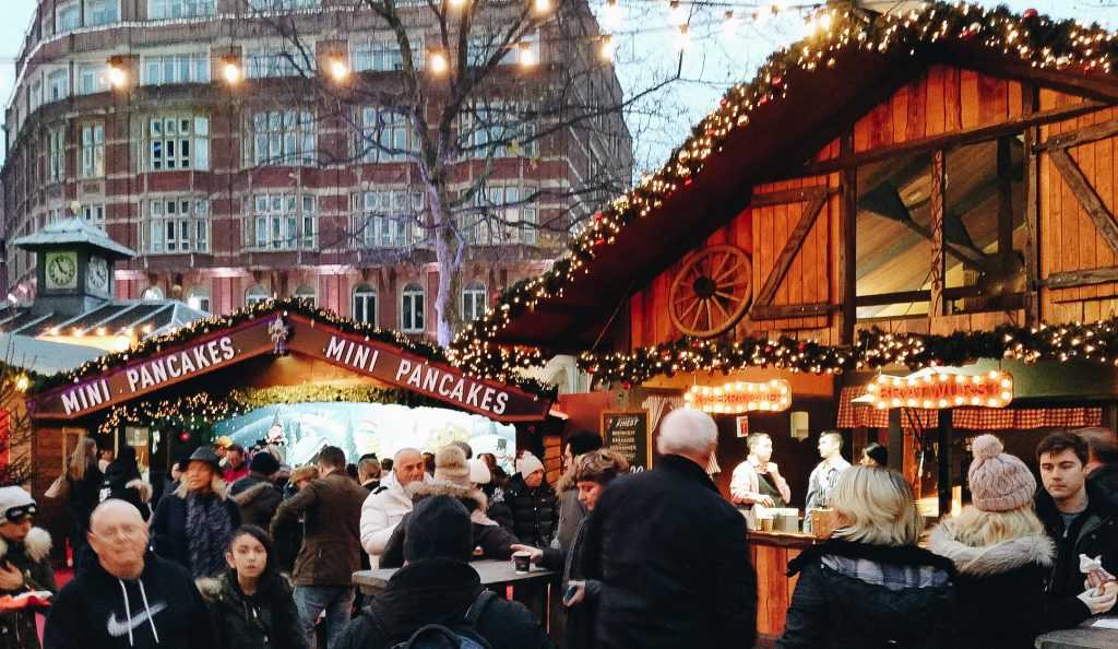 UK's Best Christmas Markets for Adults - Leicester Square London Christmas Market