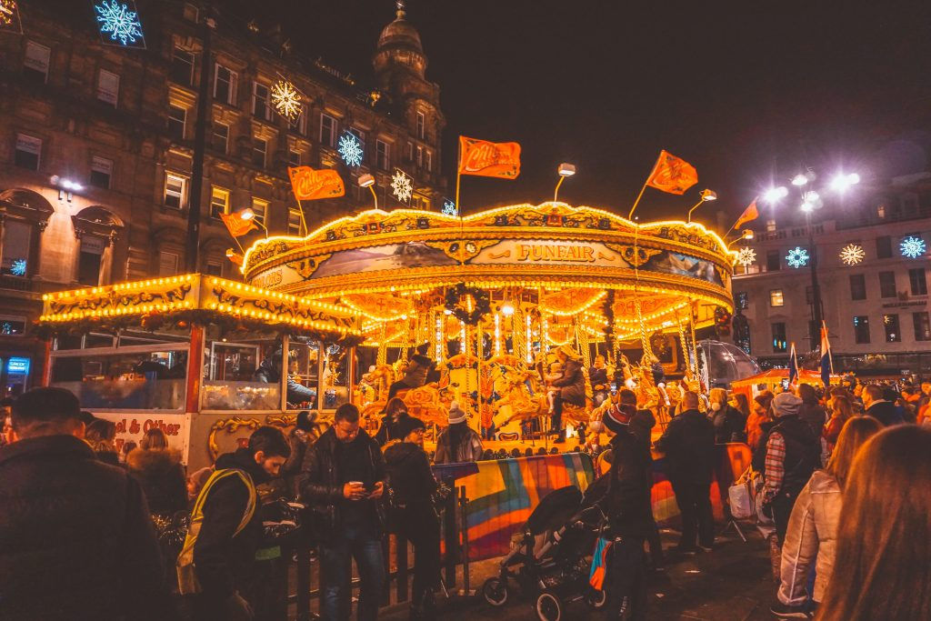 UK's Best Christmas Markets for Adults - Glasgow Christmas Market