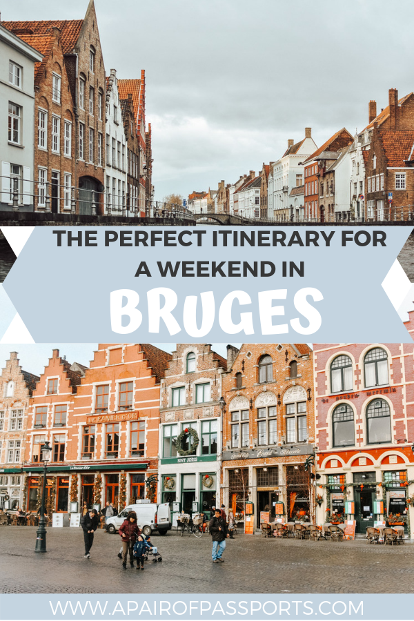 Use this itinerary for your weekend in Bruges. Covers 36 in hours in Bruges including things to see, things to eat, and where to find the best beer