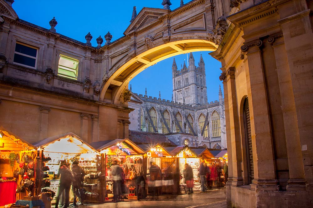 UK's Best Christmas Markets for Adults - Bath Christmas Market