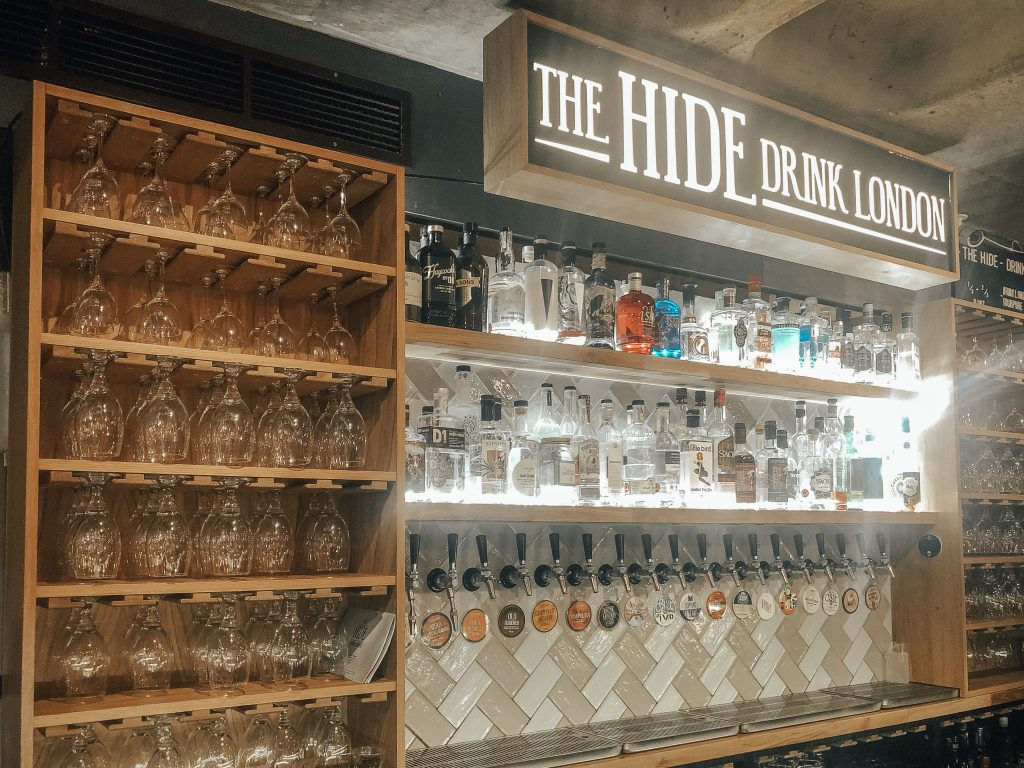 London Bridge Food Tour: The Hide Bar, Bermondsey Street